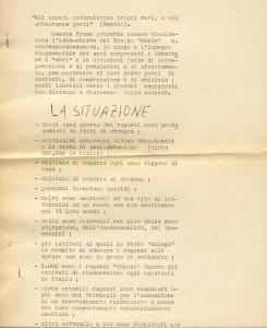 DB-1970-71-Traccia per il documento base dell'attività del gruppo Abele